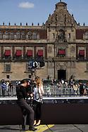 Mercedes Benz Fashion Week at the Zocalo, Mexico City