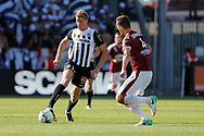 Baptiste GUILLAUME (SCO Angers), Vukasin JOVANOVIC (Girondins de Bordeaux) during the French championship L1 football match between SCO Angers and Bordeaux on August 6th, 2017 at Raymond-Kopa stadium, France - PHOTO Stéphane Allaman / ProSportsImages / DPPI