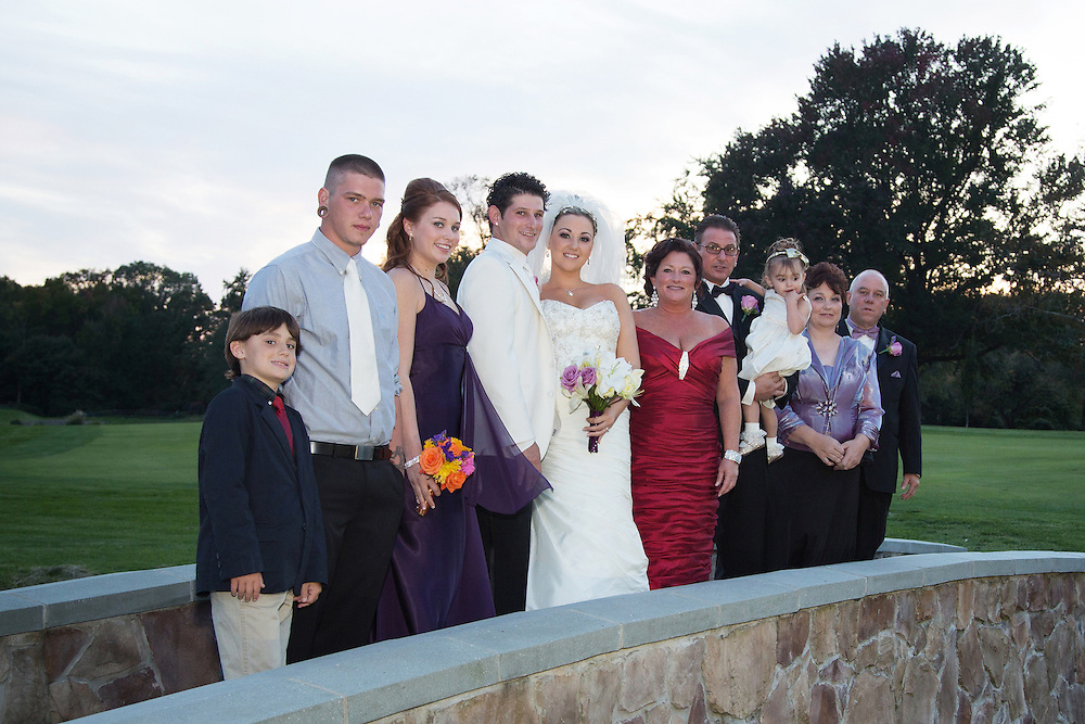 Mindy and Joe Juzwiak of Somerville, NJ are wed at the Merchantville Country Club.