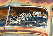 Rusted Junk Car Detail