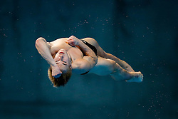 Jack Laugher of Great Britain in action during the Mens 3m Springboard Preliminary - Mandatory byline: Rogan Thomson/JMP - 12/05/2016 - DIVING - London Aquatics Centre - Stratford, London, England - LEN European Aquatics Championships 2016 Day 4.
