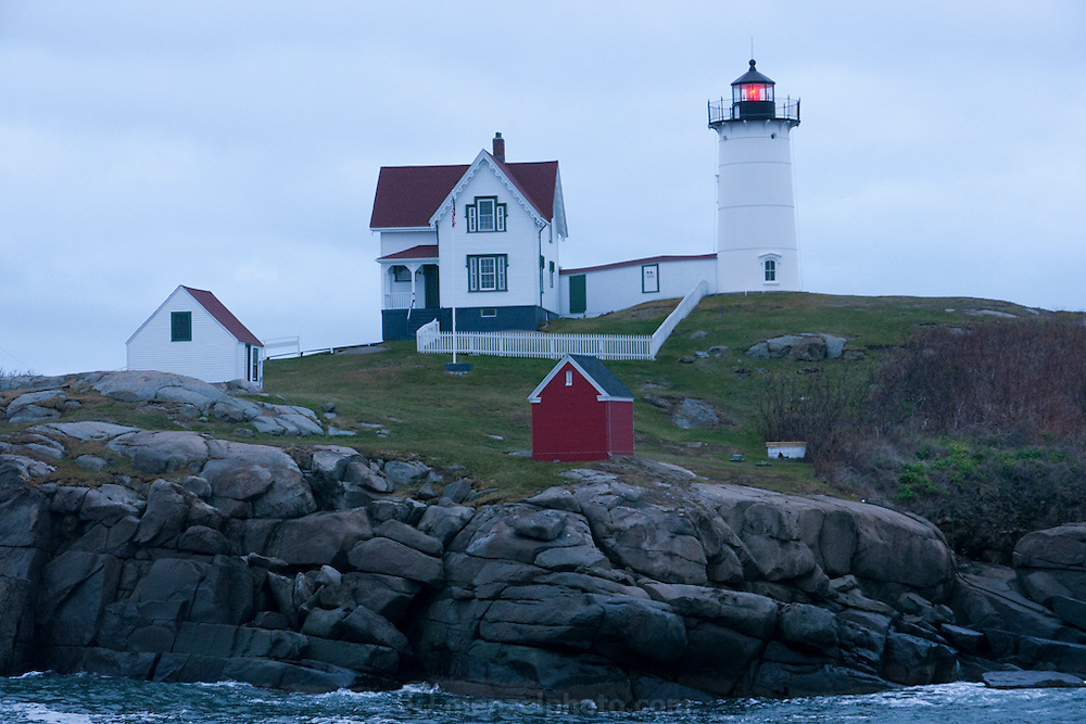 Cape Neddick, Maine light house.