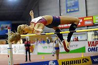 Friidrett<br /> Innendørslandskamp<br /> Norge - Sverige - Finland<br /> Tammerfors <br /> 05.02.2011<br /> Foto: Deca / Digitalsport<br /> NORWAY ONLY<br /> <br /> Tonje Angelsen