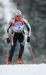 Rene Laurent Vuillermoz (ITA) at Men 20 km Individual at E.ON Ruhrgas IBU World Cup Biathlon in Hochfilzen (replacement Pokljuka), on December 18, 2008, in Hochfilzen, Austria. (Photo by Vid Ponikvar / Sportida)