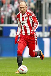 12-02-2011 VOETBAL: BAYERN MUNCHEN - TSG 1899 HOFFENHEIM: MUNCHEN<br /> Arjen Robben (Bayern #10) <br /> ***NETHERLANDS ONLY***<br /> ©2010- FRH-nph / Straubmeier