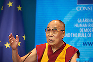 HHDL at Coucil of Europe