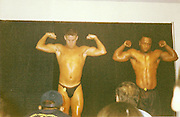 EXCLUSIVE<br /> Hollywood actor Channing Tatum pictured in the Tampa Catholic Body Building Contest in 1998, looks like his body building skills have come into use with the release of Magic Mike<br /> ©Exclusivepix Media