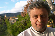 Michel Escande Domaine Borie de Maurel. In Felines-Minervois. Minervois. Languedoc. Owner winemaker. France. Europe.