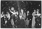 Commissioning Celebration. Sandhurst. 1984© Copyright Photograph by Dafydd Jones 66 Stockwell Park Rd. London SW9 0DA Tel 020 7733 0108 www.dafjones.com