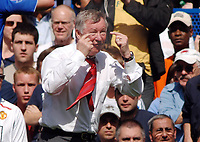 Alex Ferguson (United Manager). Chelsea v Manchester United Premier League  26/4/2008 Credit : Colorsport / Andrew Cowie