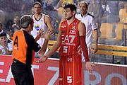 DESCRIZIONE : Roma Campionato Lega A 2013-14 Acea Virtus Roma EA7 Emporio Armani Milano <br /> GIOCATORE : Alessandro Gentile Arbitro<br /> CATEGORIA : Arbitro Delusione Mani<br /> SQUADRA : EA7 Emporio Armani Milano Arbitro<br /> EVENTO : Campionato Lega A 2013-2014<br /> GARA : Acea Virtus Roma EA7 Emporio Armani Milano <br /> DATA : 02/12/2013<br /> SPORT : Pallacanestro<br /> AUTORE : Agenzia Ciamillo-Castoria/GiulioCiamillo<br /> Galleria : Lega Basket A 2013-2014<br /> Fotonotizia : Roma Campionato Lega A 2013-14 Acea Virtus Roma EA7 Emporio Armani Milano <br /> Predefinita :