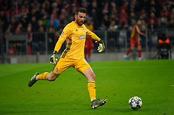 November 6, 2019, Munich, Germany: José Sá from Olympiacos seen in action during the UEFA Champions League group B match between Bayern and Olympiacos at Allianz Arena in Munich. (Credit Image: © Bruno De Carvalho/SOPA Images via ZUMA Wire)