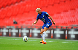 Jonna Andersson of Chelsea Women in action - Mandatory by-line: Nizaam Jones/JMP - 29/08/2020 - FOOTBALL - Wembley Stadium - London, England - Chelsea v Manchester City - FA Women's Community Shield