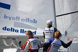 08_01003 © Sander van der Borch. Medemblik - The Netherlands,  May 21th 2008 . First day of the Delta Lloyd Regatta 2008.