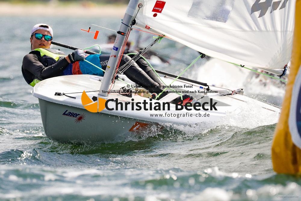 , Travemünder Woche 19. - 28.07.2019, Laser 4.7 - GER 201882 - Ruben BEERHUES - Potsdamer Yacht Club e.V