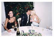 Micheal Flatley, Sophie Anderton,Caprice Bourret, Micheal Flatley's Lord of the Dance launch Banqueting House, Whitehall, 15 Oct 96© Copyright Photograph by Dafydd Jones 66 Stockwell Park Rd. London SW9 0DA Tel 020 7733 0108 www.dafjones.com