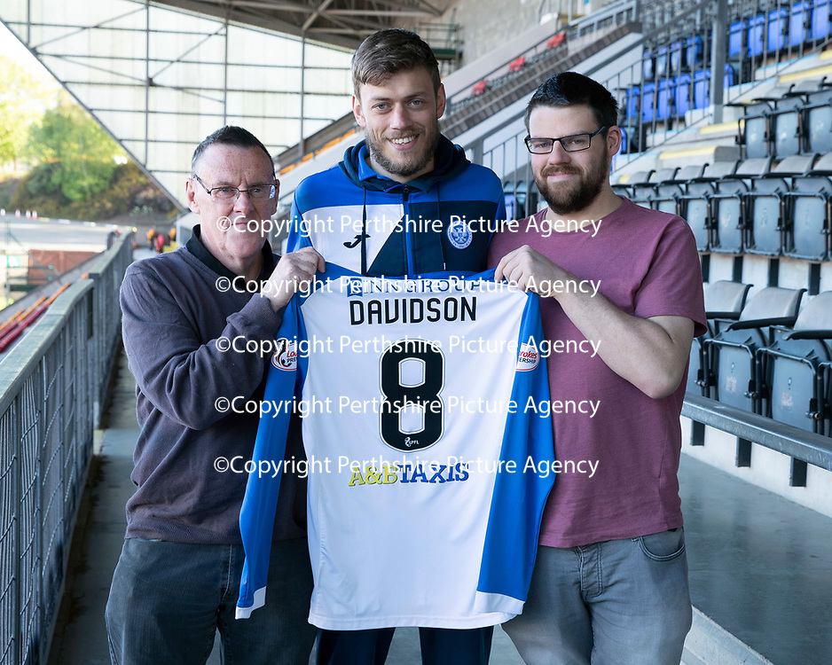 St Johnstone Players Sponsors Night…10.05.18<br />Murray Davidson<br />Picture by Graeme Hart.<br />Copyright Perthshire Picture Agency<br />Tel: 01738 623350  Mobile: 07990 594431