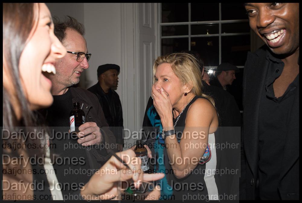 GARY HUME; MAYA HIRST, Private view, Paul Simonon- Wot no Bike, ICA Nash and Brandon Rooms, London. 20 January 2015