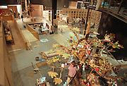 Duitsland, Hannover expo 2000, mei 2000.Opbouw van het thema 'basic needs' van het Nederlands Tropeninstituut.Foto: Flip Franssen/Hollandse Hoogte