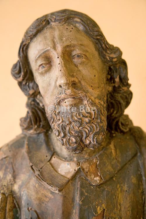 portrait of a suffering Jesus