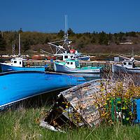 North America, Canada, Nova Scotia, Canso. Boats of Canso.