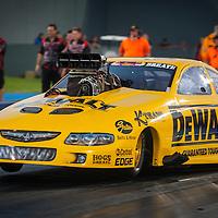 Ben Bray (2639) in his Holden Monaro Top Doorslammer.