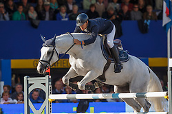 Colombo Alessandro (ITA) - Unecuore<br /> Final 7 years<br /> FEI World Breeding Jumping Championships for Young Horses - Lanaken 2014<br /> © Dirk Caremans