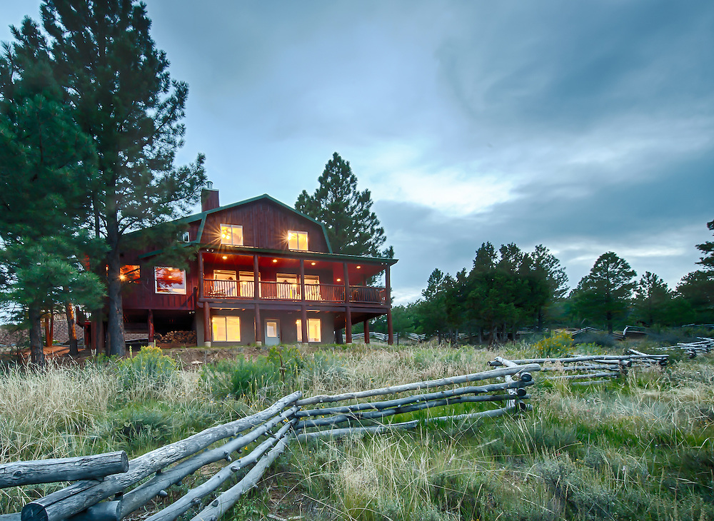 Dust Yer Britches cabin in Elk Ridge, Utah. Near Duck Creek Utah. Rentals by Truman Dutson in southern Utah.