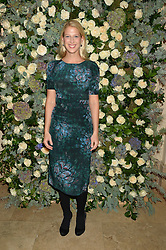 LADY GABRIELLA WINDSOR at a private view of the Beulah Winter Autumn Winter collection entitled 'Chrysalis' held at The South Kensington Club, London SW7 on 24th September 2015.