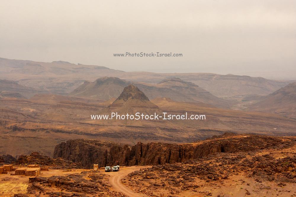 Sahara Desert Landscape Photographed in Morocco