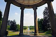 Nederland, Kleef, 4-7-2010Stadspark Kleef, een van de mooiere parken in Duitsland. Opgezet in Franse stijl.Foto: Flip Franssen/Hollandse Hoogte