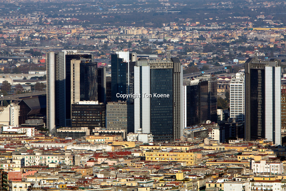 view from Angelini-sant'elmo on the naples business centre