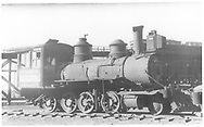 """RGS 2-8-0 #6 in deadline at Alamosa.<br /> RGS  Alamosa, CO  Taken by Kindig, Richard H. - 7/4/1938<br /> In book """"RGS Story, The Vol. XII: Locomotives and Rolling Stock"""" page 22"""