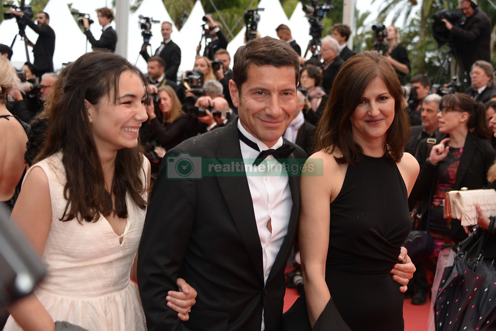 May 18, 2019 - Cannes, France - CANNES, FRANCE - MAY 18: Cannes Mayor David Lisnard, his wife Jacqueline Pozzi and his daughter Mathilde Lisnard attend the screening of ''Les Plus Belles Annees D'Une Vie'' during the 72nd annual Cannes Film Festival on May 18, 2019 in Cannes, France (Credit Image: © Frederick InjimbertZUMA Wire)