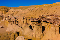 Rock formations, Ah-Shi-Sie-Pah Wilderness Study Area, New Mexico USA.