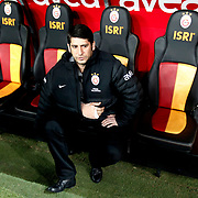 Galatasaray's coach Umit Davala during their Turkish Super League soccer match Galatasaray between Genclerbirligi at the TT Arena at Seyrantepe in Istanbul Turkey on Friday, 08 March 2013. Photo by Aykut AKICI/TURKPIX