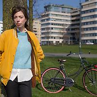 Nederland, Amsterdam, 16 maart 2017.<br />Hanna Bervoets<br />Hanna Marleen Bervoets is een Nederlandse schrijfster, journaliste en columniste<br /><br /><br /><br />Foto: Jean-Pierre Jans