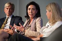 """13 JUN 2012, BERLIN/GERMANY:<br /> Eva-Maria Michel (M), stellv. Intendantin und Justiziarin, WDR,<br /> Diskussionsveranstaltung """"Neue Prespektiven im Urheberrecht"""", Verband Privater Rundfunk und Telemedien e.V., vprt, Bertelsmann-Repräsentanz<br /> IMAGE: 20120613-01-240"""