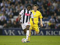 Photo: Rich Eaton.<br /> <br /> West Bromwich Albion v Sheffield Wednesday. Coca Cola Championship. 13/04/2007. West Broms Sam Sodje attacks