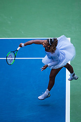 September 2, 2018 - Flushing Meadow, NY, U.S. - FLUSHING MEADOW, NY - SEPTEMBER 02: SERENA WILLIAMS (USA) day seven of the 2018 US Open on September 02, 2018, at Billie Jean King National Tennis Center in Flushing Meadow, NY. (Photo by Chaz Niell/Icon Sportswire) (Credit Image: © Chaz Niell/Icon SMI via ZUMA Press)