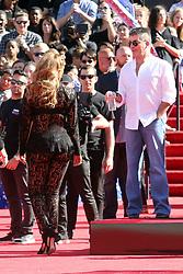 America's got Talent judges arrive at Pasadena. 27 Mar 2017 Pictured: Tyra Banks, Simon Cowell. Photo credit: Rachpoot/MEGA TheMegaAgency.com +1 888 505 6342