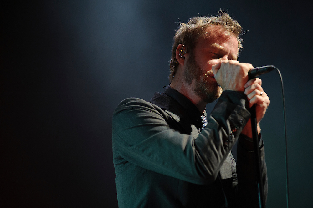 The National performing at Radio City Music Hall, NYC. June 16, 2010. Copyright © 2010 Matt Eisman. All Rights Reserved.