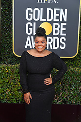 January 6, 2019 - Los Angeles, California, U.S. - Jan 6, 2019 - Beverly Hills, California, U.S. - Yvette Nicole Brown during red carpet arrivals for the 76th Annual Golden Globe Awards at The Beverly Hilton Hotel..(Credit: © Kevin Sullivan via ZUMA Wire) (Credit Image: © Kevin Sullivan via ZUMA Wire)