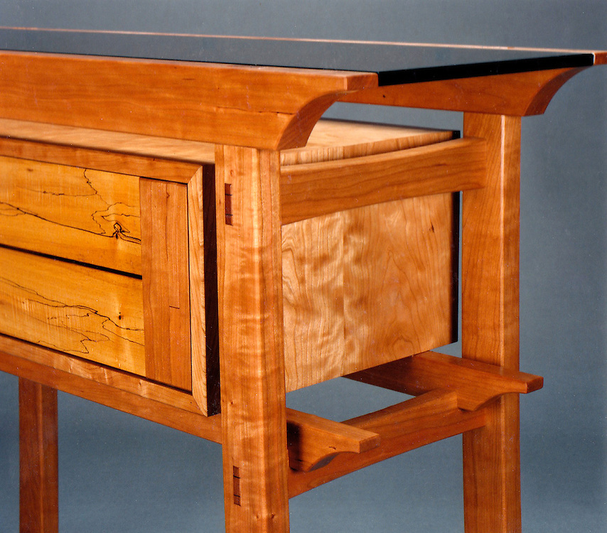 Hall table detail