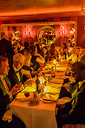 New Generation Festival fundraiser at LouLous, Mayfair, London - with music by Denim, opera singers and Ronnie Scotts band.