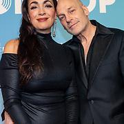 NLD/Amsterdam/20200211 - Uitreiking Edison Pop 2020, Monique Klemann en partner Jeroen den Hengst
