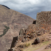 """According to """"Wikipedia"""" - Researchers believe that Písac defended the southern entrance to the Sacred Valley, while Choquequirao defended the western entrance, and the fortress at Ollantaytambo the northern. Inca Pisac controlled a route which connected the Inca Empire with the border of the rain forest."""