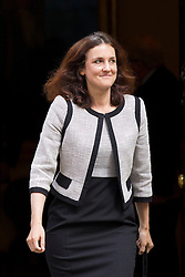 © Licensed to London News Pictures. 10/09/2013. London, UK. The Northern Ireland Secretary, Theresa Villiers, is seen on Downing Street in London today (10/09/2013) after a meeting of the British Government's cabinet. Photo credit: Matt Cetti-Roberts/LNP