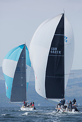 Sailing - SCOTLAND  - 27th May 2018<br /> <br /> 3rd days racing the Scottish Series 2018, organised by the  Clyde Cruising Club, with racing on Loch Fyne from 25th-28th May 2018<br /> <br /> GBR4822R, El Gran Senor, Jonathan Anderson, CCC, J122E<br /> <br /> Credit : Marc Turner<br /> <br /> Event is supported by Helly Hansen, Luddon, Silvers Marine, Tunnocks, Hempel and Argyll & Bute Council along with Bowmore, The Botanist and The Botanist