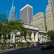 New York Public Library main branch, Manhattan, USA